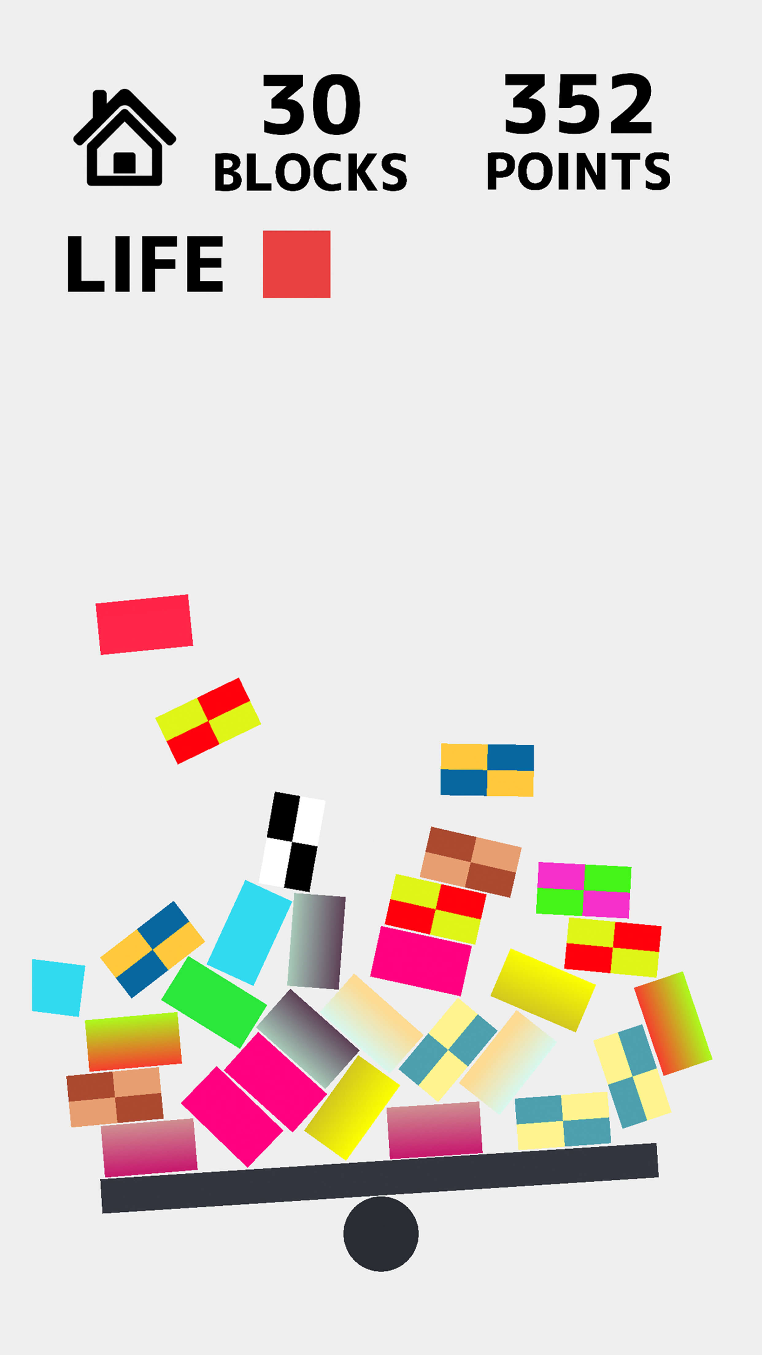 Colorful Balancing スクリーンショット